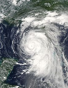Hurricane Dennis was an early-forming major hurricane in the Caribbean and Gulf of Mexico during the very active 2005 Atlantic hurricane season. Dennis was the fourth named storm, second hurricane, and first major hurricane of the season. In July, the hurricane set several records for early season hurricane activity becoming the strongest Atlantic hurricane ever to form before August; a title it held for only six days before being surpassed by Hurricane Emily.