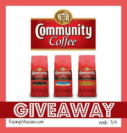 What better way to start your day but with coffee cake and COFFEE!!! Enter the Community Coffee #Giveaway today1