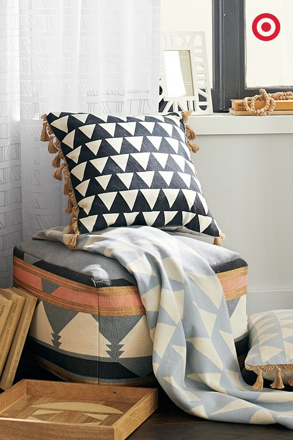 Ready for some laid-back Cali-cool? Add some California-dreaming to your home with pieces that feature tons of texture, geo prints, weathered woods, and muted colors that blend in and stand out. Find this all in the new @NateBerkus Spring Collection, only at Target.