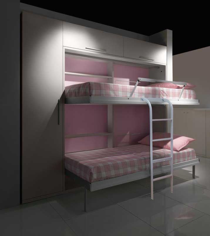 Misure Letti Singoli Per Bambini.Pin Su Letti A Scomparsa Verticali Con O Senza Divano Foldaway Bed