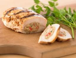 Crab Stuffed Chicken Breasts....this is a favorite! Yummy!