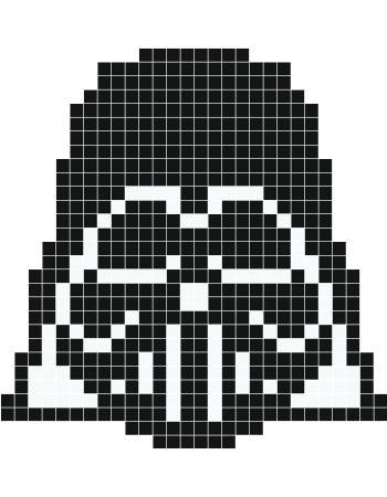 Darth Vader Pixel Art Stickaz Pixel Art Pinterest Pixel Art