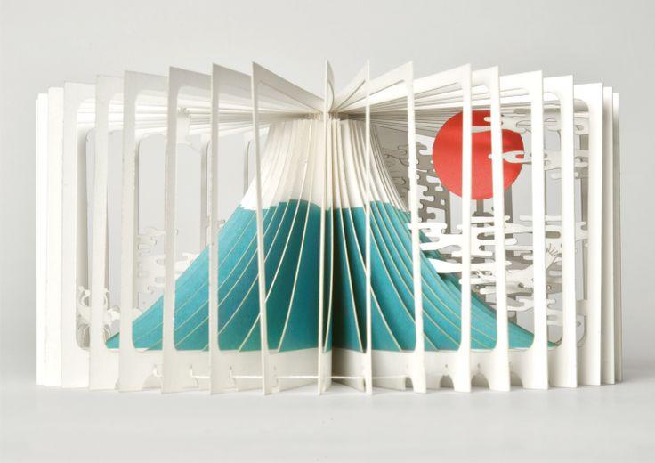 360º Book Fujiyama by Yusuke Oono