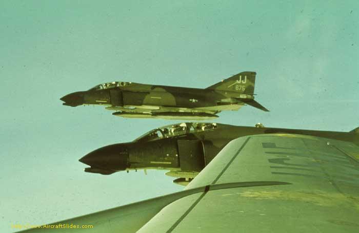 F-4D 66-7675 JJ 388TFW Korat   F 4 Phantom II Vietnam War