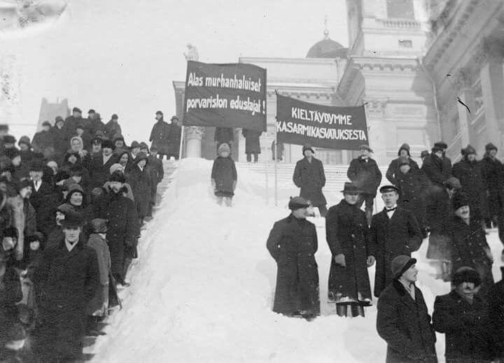 civil war in Finland 1918