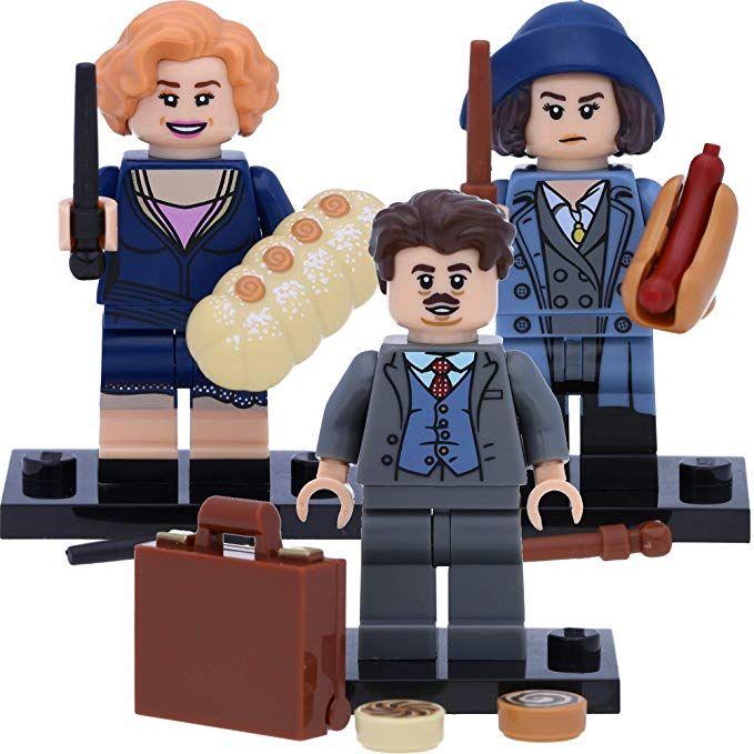 Lego Harry Potter 71022 Sammelfiguren 18 19 20 Tina Jacob Und Queenie Harry Potter Deko Harry Potter Witze Harry Potter Kos Lego Harry Potter Lego Legos