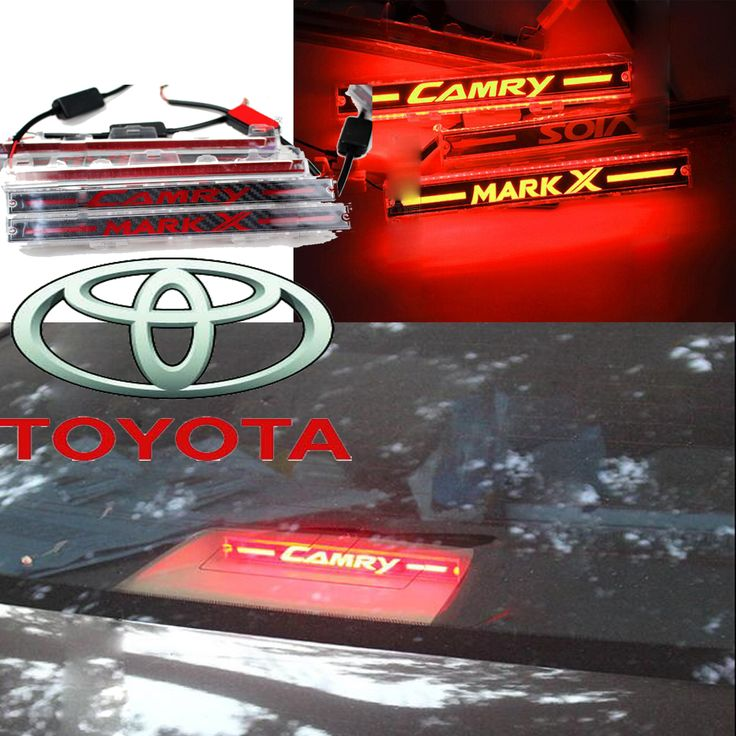 Camry achterlicht, corolla breaking licht, vios Rear Lamp, VIGO mistlamp, LED, Gratis schip! reiz Mark X achterlicht