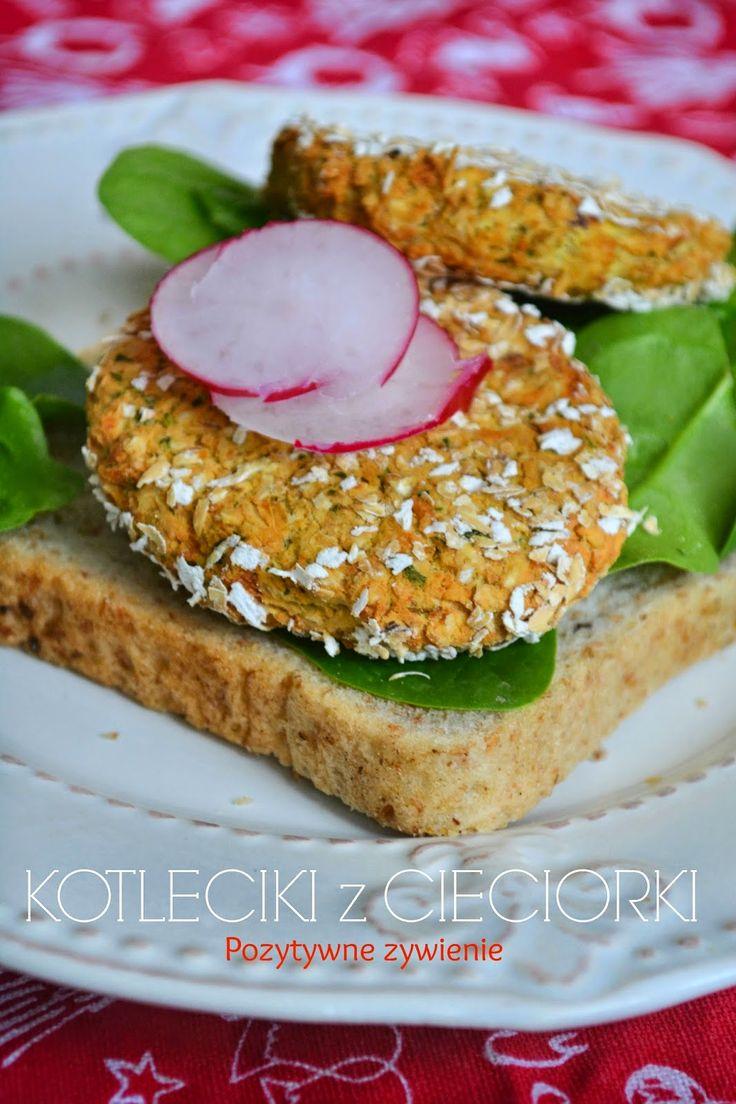 Pozytywne żywienie - dietetyka od przyjemnej strony: Pieczone kotleciki z ciecierzycy - falafel w wersji light