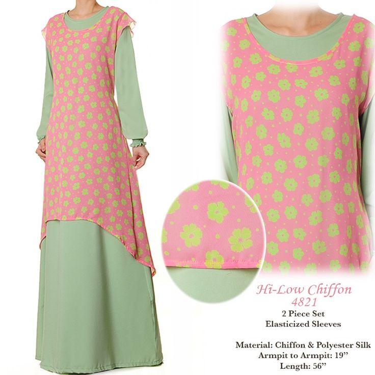 4821 Chiffon High Low Dress - Standard Size S/M US$30 FREE SHIPPING WORLDWIDE  Buy It Here --> http://shop.pe/8ZGFT