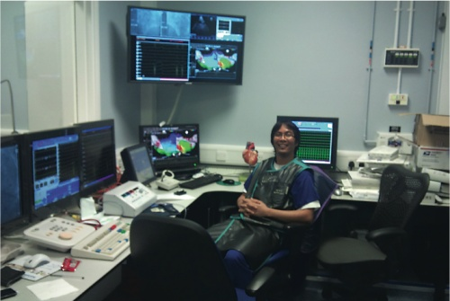 Ivan Feticio, Chief Cardiac Physiologist, Harefield Hospital, Middlesex, United Kingdom. From: The Cardiosave IABP: an early adopter's report. Cath Lab Digest January 2012;20(1):1-30.