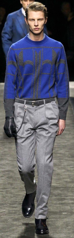 Brioni Fall 2015 Menswear | Men's Fashion & Style | Luxury Men's Outfit | Moda Masculina | Shop at designerclothingfans.com
