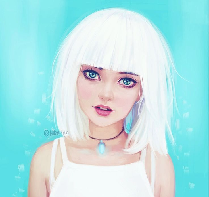 Ice by Hiba-tan on DeviantArt Wonder if I can pull off this hair cut