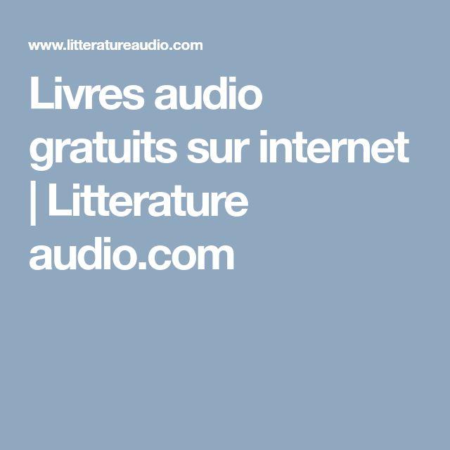 Livres audio gratuits sur internet | Litterature audio.com