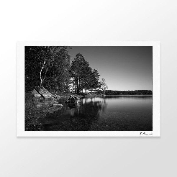 Schweden lake fine-art-print  #sail #fineart #print #mallorca #Photography #foto #kunst #art #fine-art #druck #hannover #sweden #schweden #fotograf  #germany #fotografie #fotokunst #schwarz-weiß #bw #black-white #blackandwhite #dslr #eos5dmkIII #shopping #deco #dekoration #inspiration #langzeitbelichtung #landscape #landschaftsfotografie #landschaft
