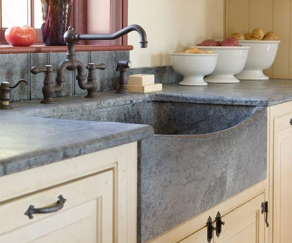 Soapstone Kitchen Counters Granite Countertops Countertop Apron Sink Ideas