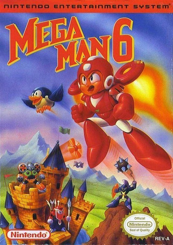 Mega Man 6 Nintendo Nes Game Tested And Working Video Game Mega Man 6 Nes Games Mega Man