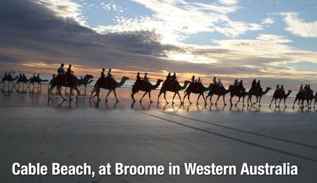 Cable Beach, at Broome in Western Australia  Cable Beach is the beauty of pure white sand on a 22 kilometres stretch of beach near Broome, Western Australia. Seeing is believing. Contact us today for great international and domestic flight deals to and from Perth.  Call us on (03) 9662 1126 or email us at info@buddhatravel.com.au for more information.  #CableBeach #BuddhaTravels #Perth