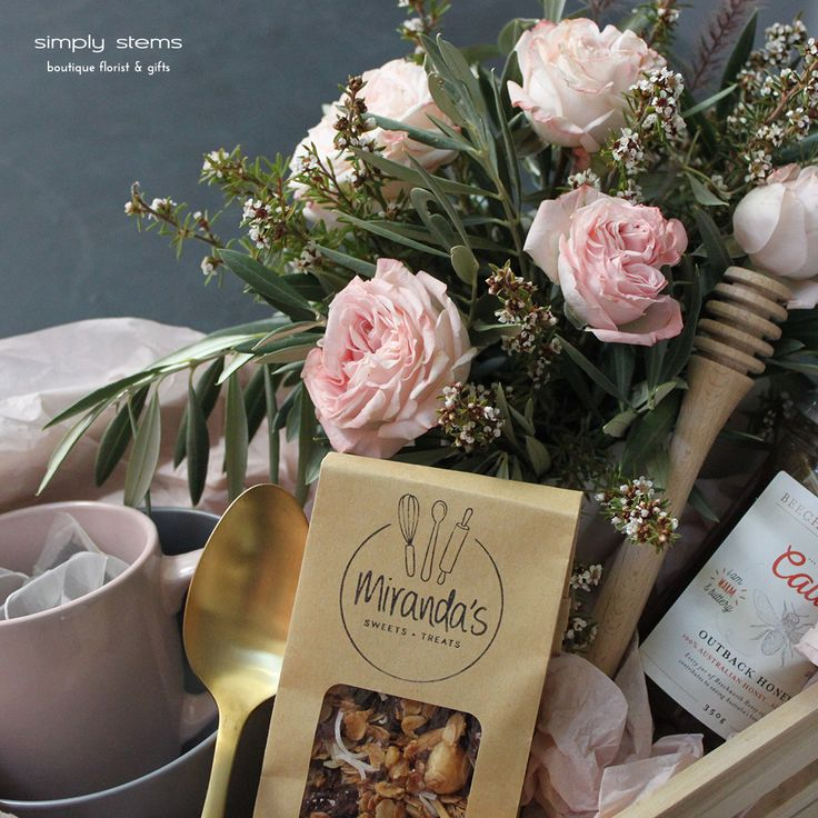 Breakfast in Bed by Simply Stems Boutique Florist for Mothers Day Gift Ideas