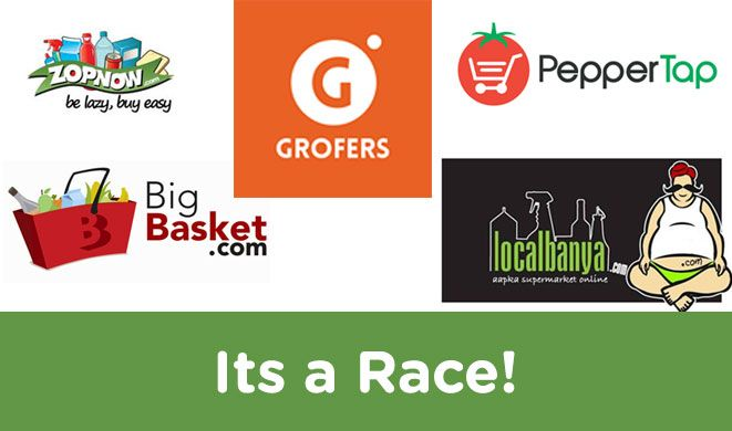 after PepperTap and Local Banya, is Grofers going to be the next failed strat up? #ExpressYourOpinion #Posticker Online Business