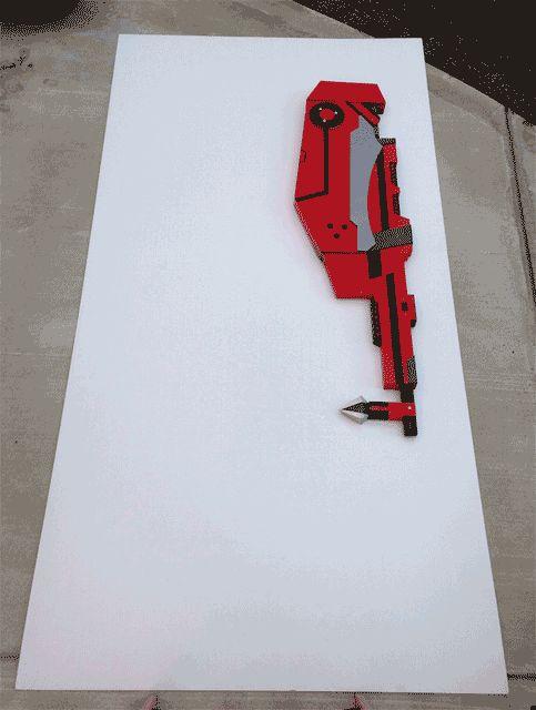 RWBY - Crescent Rose Scythe/Blaster
