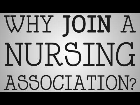 ▶ Nursing School | Why Join A Nursing Association? - YouTube