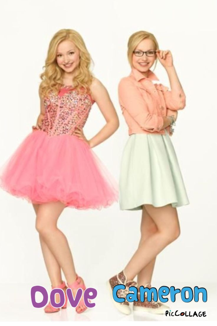 Dove Cameron on the all new Disney channel show Liv and Maddie. She is also in Cloud9, a Disney channel movie.