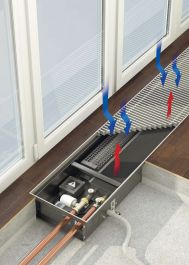 VARMANN Qtherm Встраиваемый в пол конвектор Артикул: Q EM 180.75.800 RR U EV1 Встраиваемый в пол конвектор VARMANN Qtherm, с вентилятором, принудительная конвекция, решетка анодированная (серебристая). Гарантия производителя.