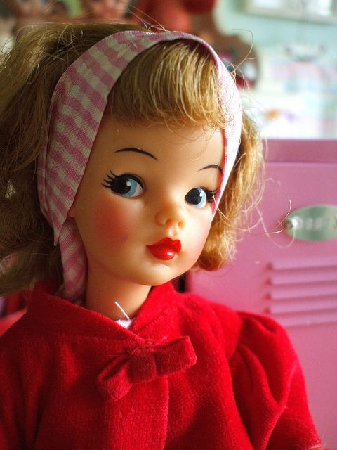 Tammy Doll - such a sweet face. Think it was named after Tammy (Debbie Reynolds) MS