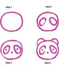How to draw EASY ANIMALS - CHICK