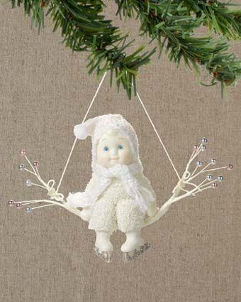 Snowbabies Ready to Skate Ornament