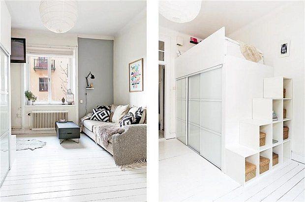 Mieszkanie w Sztokholmie - 25 m kw. - zdjęcie