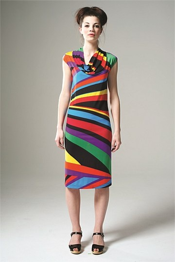 Thrive Women - Carnival Cowl Dress - Thrive Clothing