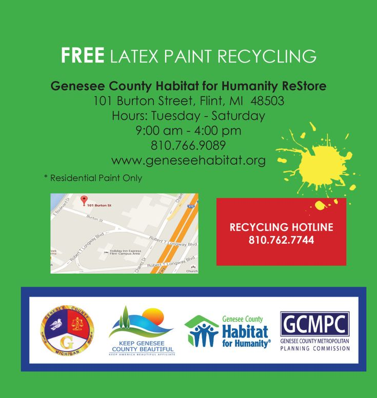 Household Hazardous Waste Collection Keep Genesee County Beautiful partners with the City of Flint and Genesee County Metropolitan Planning Commission to conduct two Household Hazardous Waste Collection events each year. The events occur annually in both the spring, summer and fall with two collection sites; one in the City of Flint and a second site
