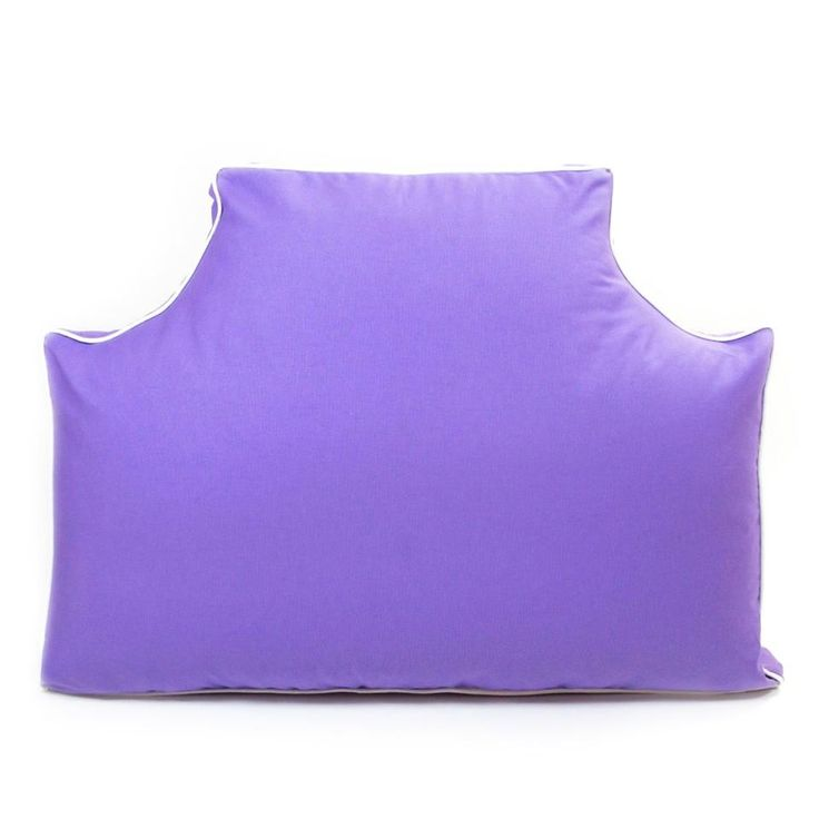 Thistle Purple Headboard Pillow for home and dorm