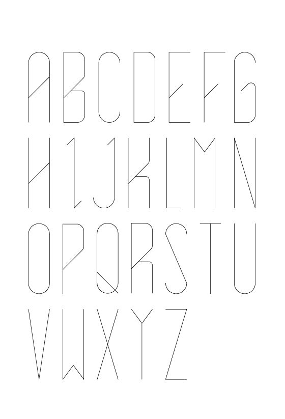 Kind of a cool font. Mandi tell me if I should stop, I'm basically vomiting all my favorite design pins on this board.