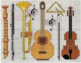 BLOG DA VANESSINHA: Graficos de instrumentos MUSICAIS