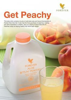 Forever Aloe Bits N'Peaches® For centuries, people all around the world have…