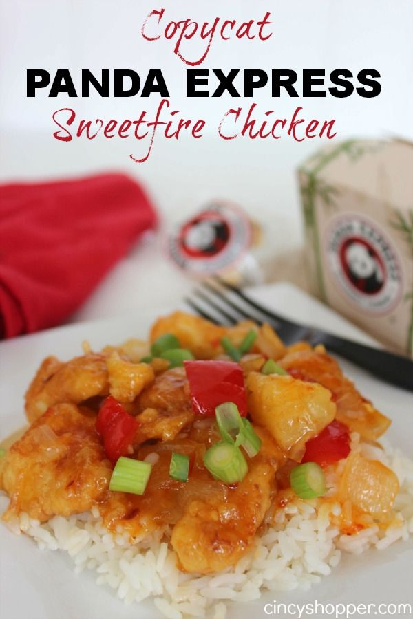 CopyCat Panda Express Sweetfire Chicken Recipe. This just moved to the top of my favorite copycat recipes list. YUM! Perfect everyone came back for seconds and even thirds.