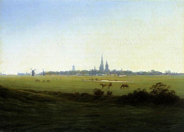 Луга вблизи Грайфсвальда. Каспар Давид Фридрих