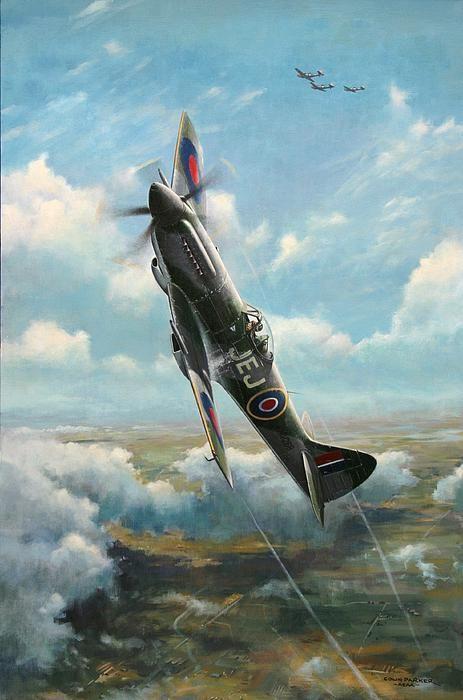 'Bandits at 3 O'Clock High' Spitfire Mk XIVe