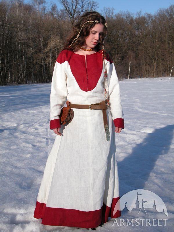 """Costume vichingo da donna """"Figlia del fiordo"""" del X-XI secolo"""""""