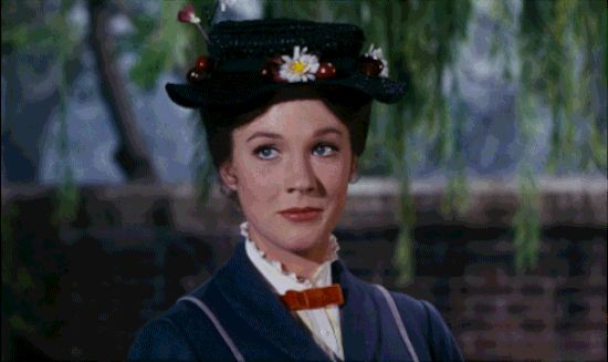 "Practically Perfect Mary Poppins Reaction GIFs The ""I Will Sarcastically Clap For Your Shenanigans"""
