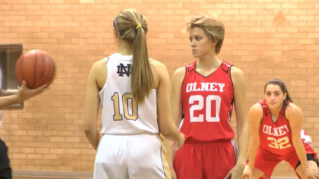 Girls High School Basketball: Olney at Notre Dame