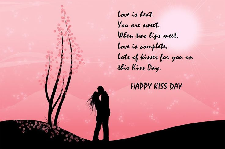 Happy Kiss Day SMS Messages Quotes And Shayari