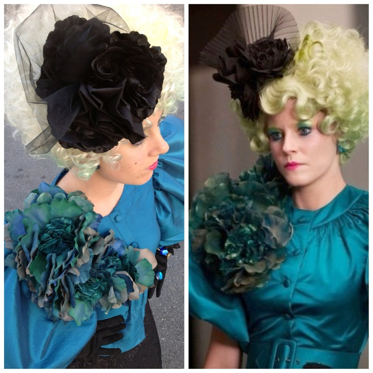 Effie Trinket Costume Hunger Games Costume, Wig, and Accessories. $479.00, via Etsy.