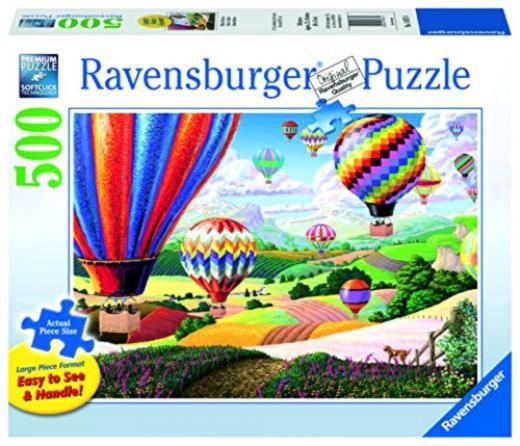 Ravensburger Brilliant Balloons Large Format Jigsaw Puzzle 500 Piece 14871 Pieces