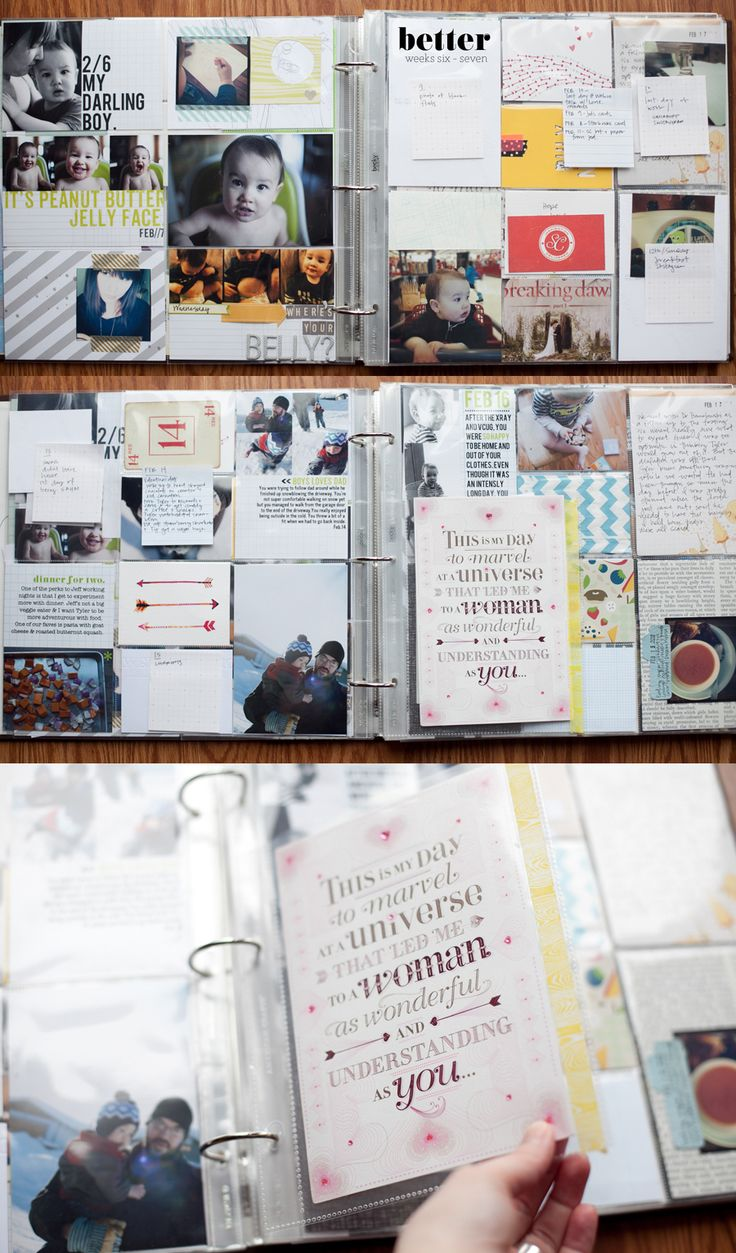 How to scrapbook baby book - Baby Book