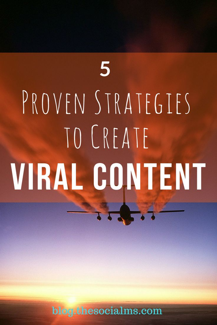 Viral Content sparks emotions, breakthroughs, ideas, and thoughts. Here are the ingredients your content needs to have a chance of turning viral. // The Social Ms