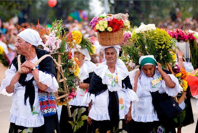 The Medellín Flower Fair, Colombia