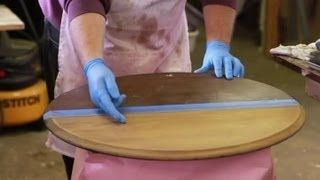 Video Tutorial About How To Strip Stain From Wood Furniture